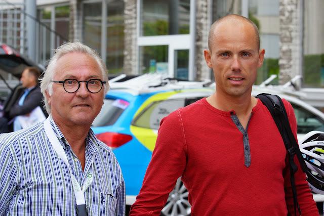 Rein Van Waeyenberghe bij Sven Nys