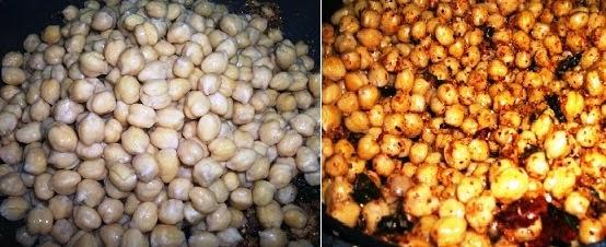 Chickpea Sundal Recipe | Indian Garbanzo Bean (Chole) Salad