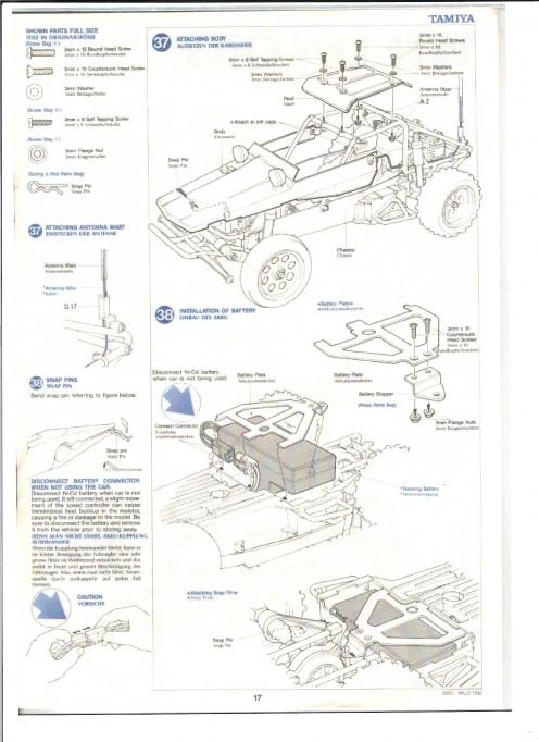 Tamiya Kits: Tamiya Wild One Build Manual