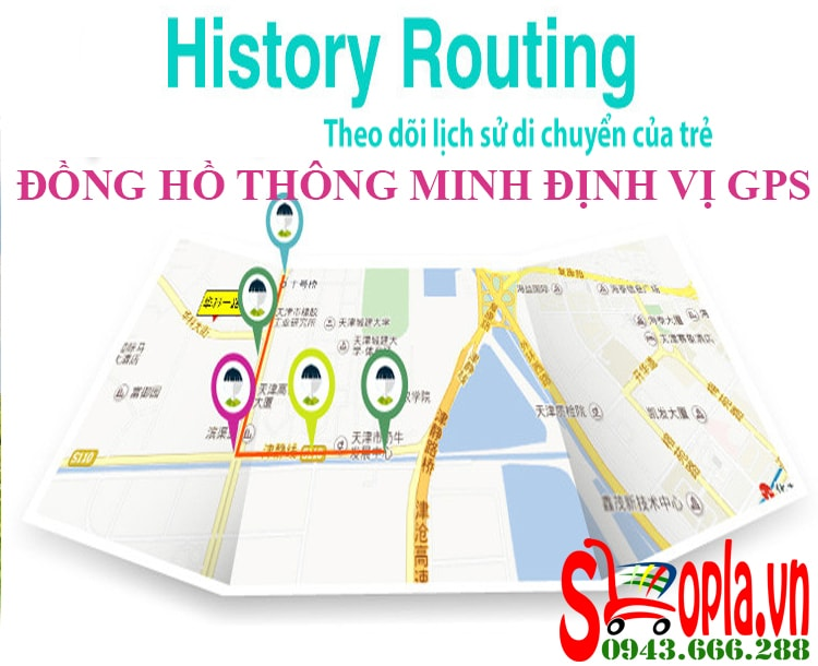 Đồng Hồ Định Vị Trẻ Em V80 - 04 (Hồng - Pink)