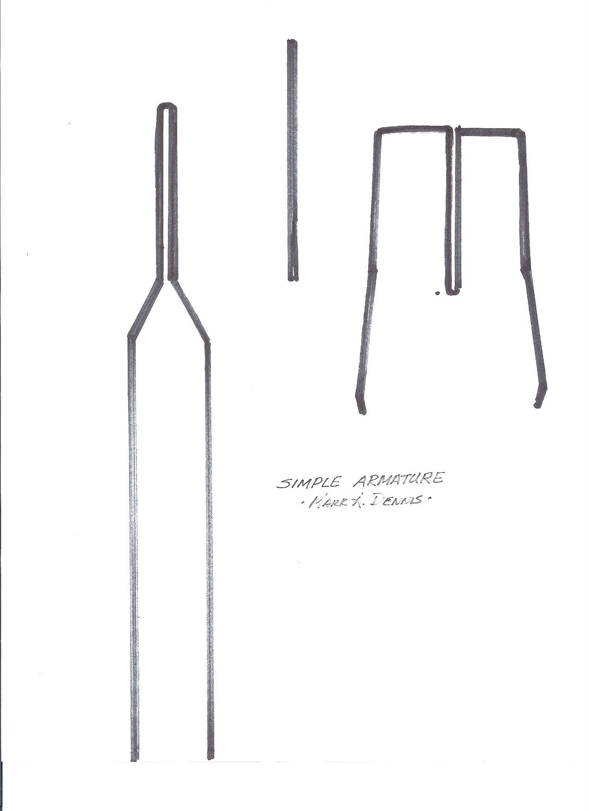 Madsculptor Design Considerations Simple Armature