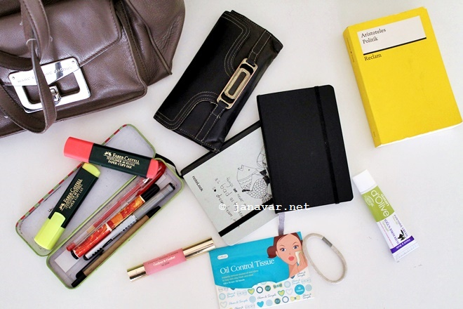 Back to school: What's in my bag