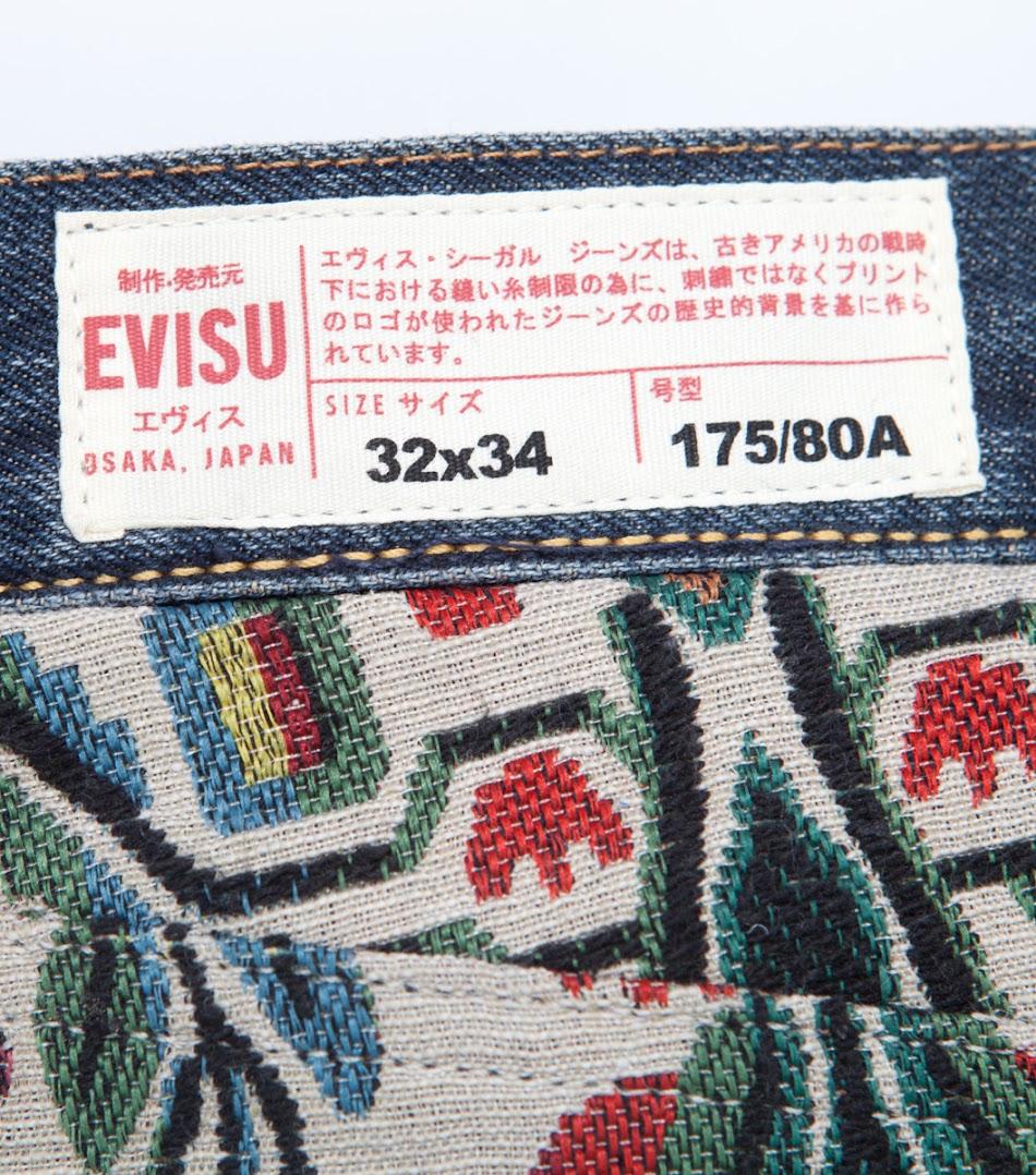 *EVISU x CLOT Case Study 001:限量民族風水洗丹寧褲! 2