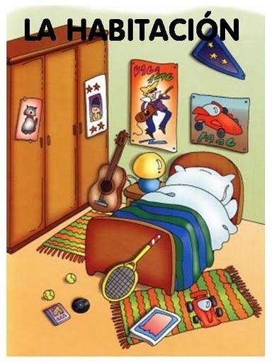 Maestra de Infantil La casa Dependencias de la casa