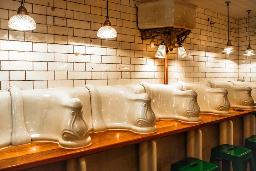 *保有60年代維多利亞風格:attendant廁所咖啡廳! 12