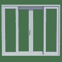 Model Pintu Geser UPVC