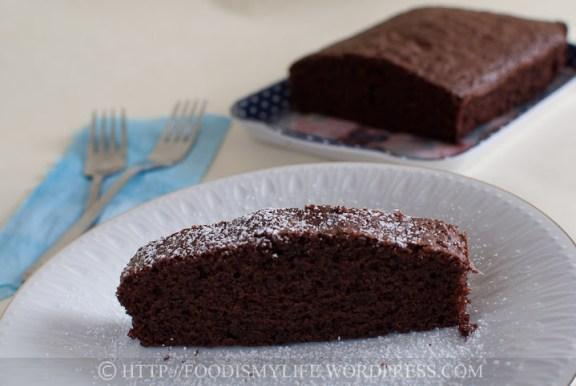 Naughty Chocolate Cake