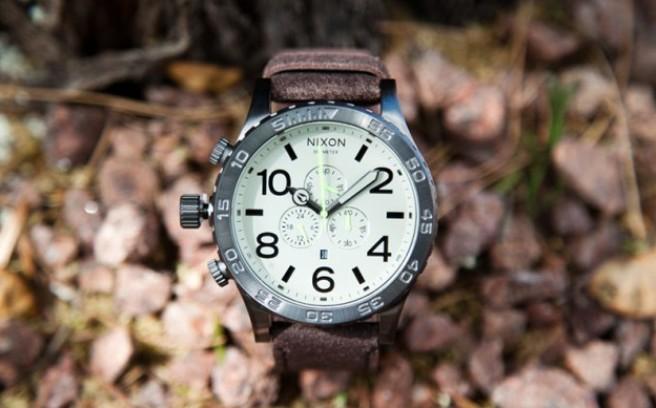 *Nixon簡約機能錶款:手感仿舊打造 1