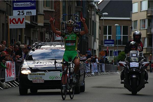 Frédéric Amorison wint 1e GP Jempi Monsere