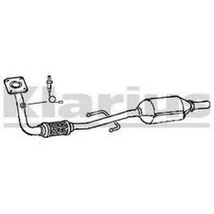 volkswagen vw polo vw lupo 1.4 Exhaust Flexi flex repair