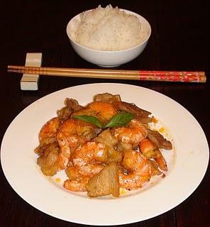 The Spices Of Life  Tôm Ram Thịt Caramelized Shrimp