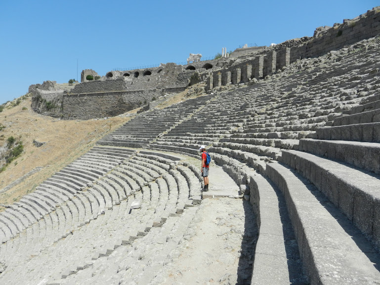 Theatre, Pergamum, Turkey