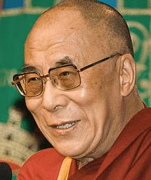 The 14th Dalai Lama, Tenzin Gyatso in 2007