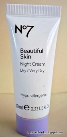 Boots No.7 : Beautiful Skin, Night Cream for Dry / Very Dry skin