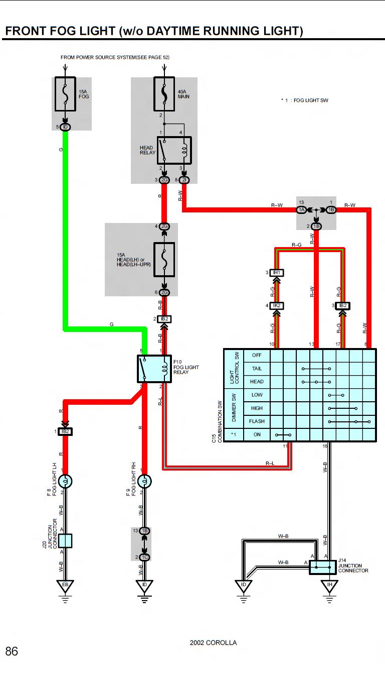 medium resolution of 2002 celica fog light relay wiring diagram