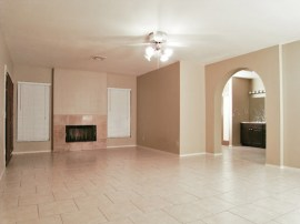 Sun Lakes Real Estate: Master bedroom with fireplace