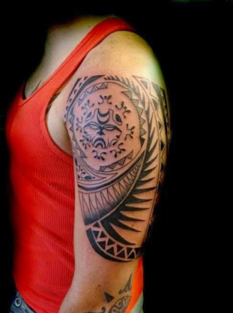 tribal tattoos for men on arms