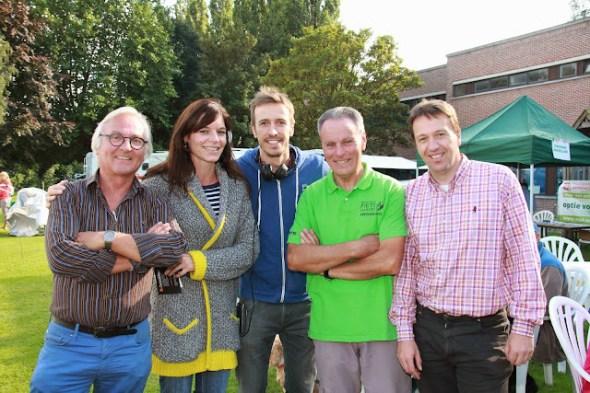 Rein, Walter en Bjorn bij de mensen van Radio 2