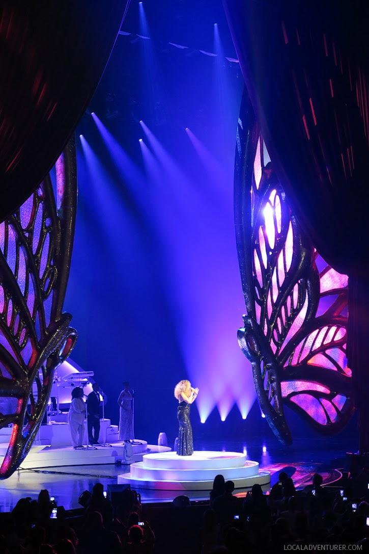 Mariah Carey Las Vegas Caesars.