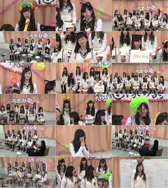 (TV-Variety)(720p) YNN [NMB48チャンネル] 想像の詩人パーティー 150423