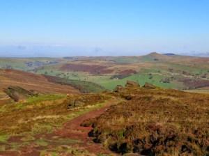 The Roaches Ridge Looking To Shutlingsloe