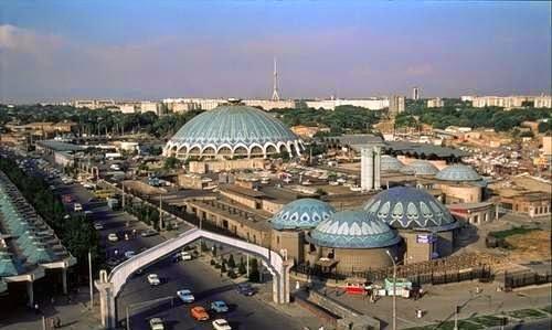 Общий вид на центр Ташкента