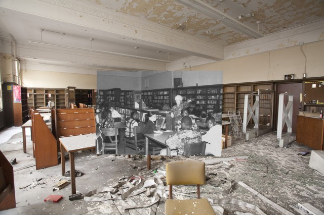 *Detroit Now And Then:極度詭譎昔日影像交錯重疊! 1