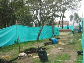 Obreros en el Humedal de Córdoba