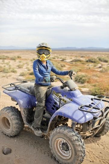 ATV Riding // Things for kids to do in Las Vegas.