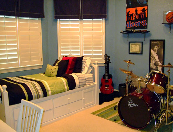 Music Theme Bedroom