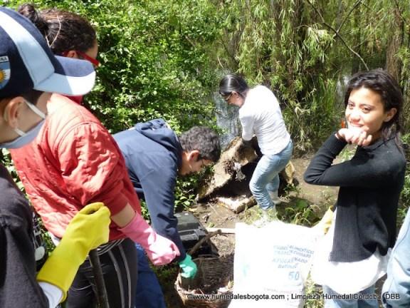 Limpieza Humedal Córdoba