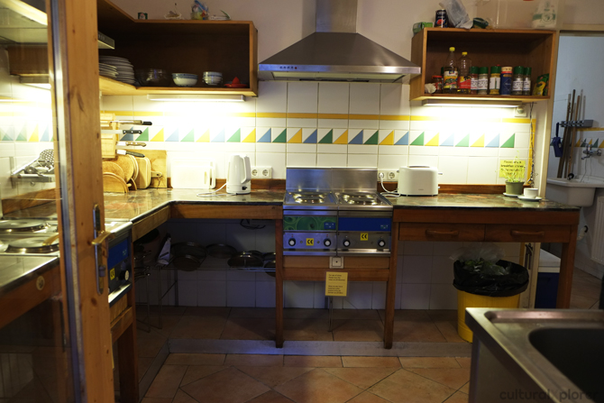Hostel Ruthensteiner Kitchen