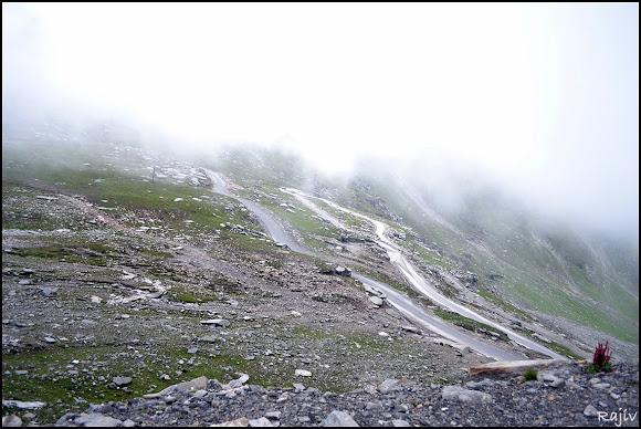 Rohtang to marhi road