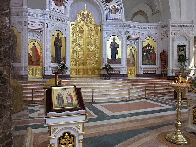 Russian orthodox Church,Christ The Saviour Cathedral Kaliningrad