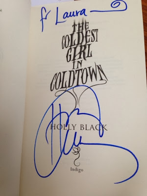 THE COLDEST GIRL IN COLDTOWN: HOLLY BLACK EVENT