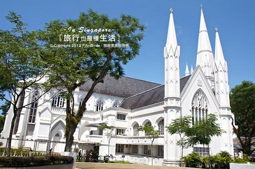 【走走新加坡】聖安德烈教堂 - Anismile 文字旅攝