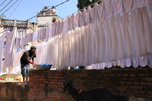 laundry in nepal