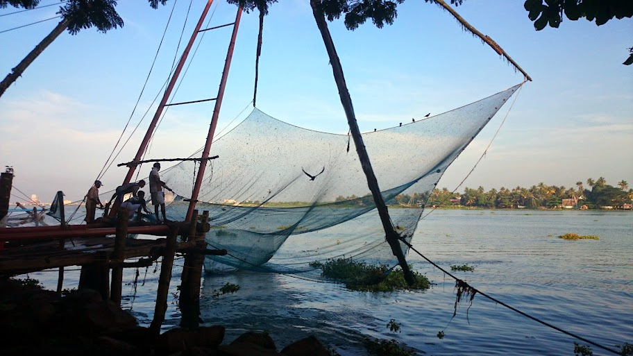 Fishing with Chinese Fishing Net (3/3)