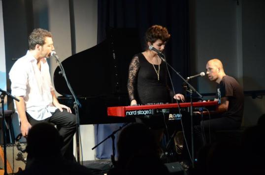 ספי, דני ואייל, פסטיבל הפסנתר. צילום: יובל אראל