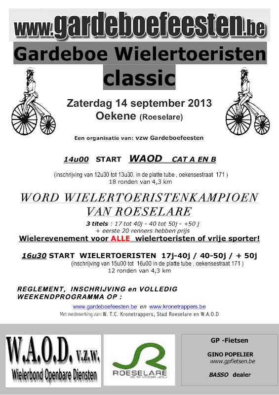 Flyer Gardeboe Classic 2013