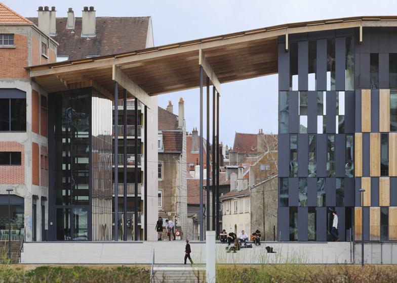 #融合自然與禪意的藝術中心:Besançon Art Center and Cité   de la Musique 3