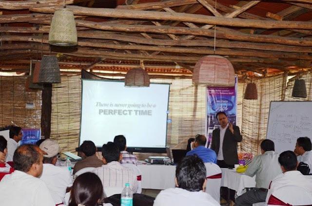 Rohit Motivation Talk at Reliance Meet