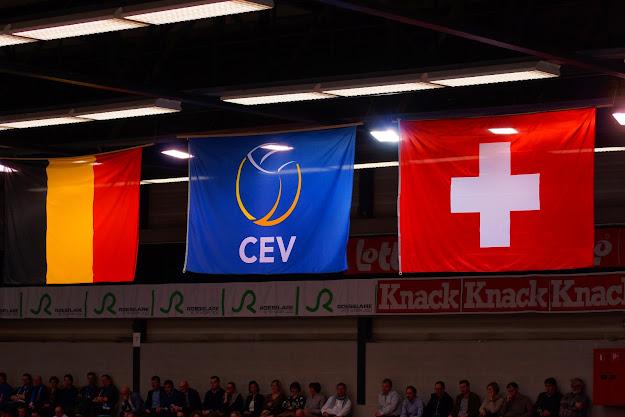 Knack Roeselare vs Dragons Lugano, CEV