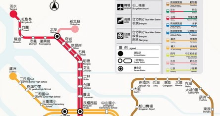 臺北捷運路線圖2014 - 旅遊玩家