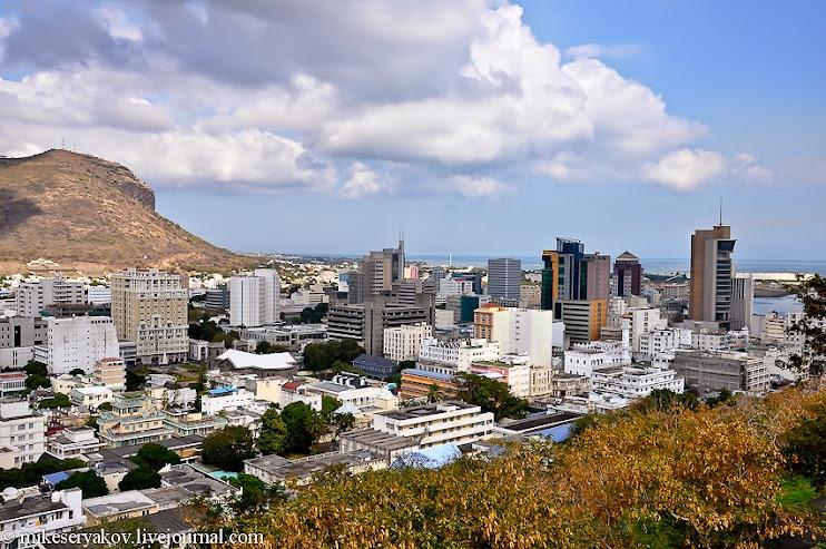 город на Маврикии