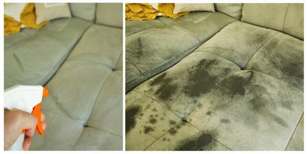 how to steam clean a used sofa