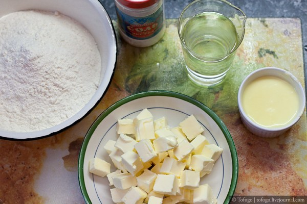 Быcтрое слоеное тесто (Rough puff pastry): tofogo ...