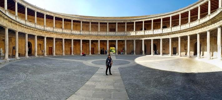 Ruta por Andalucía. Palacio de Carlos V, la Alhambra, Granada