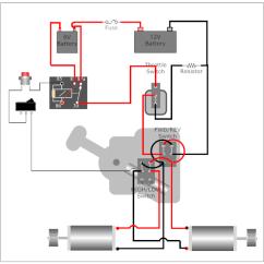 Power Wheels 6v Wiring Diagram Siberian Tiger Food Web Lightning Mcqueen - 12v Troubleshooting Help Modifiedpowerwheels.com