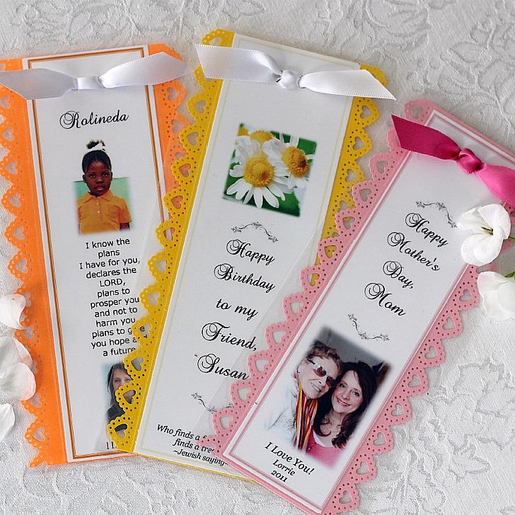 personalized bookmarks grateful prayer